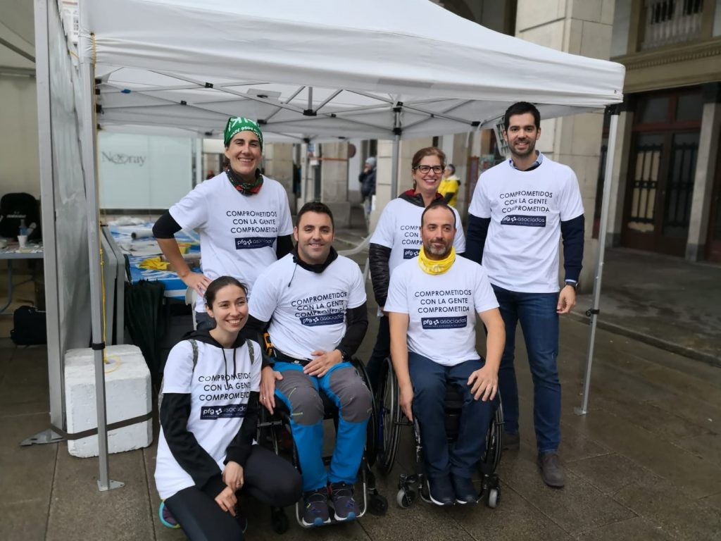 Proyecto ENKI 2019 y PFG Asociados. Voluntarios del Espacio de la Solidaridad.